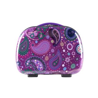Travlers Club Paisley Collection Multicolor ABS and Polycarbonate 13-inch Hardside Travel Beauty Case