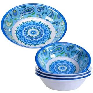 Certified International 5-piece Boho Melamine Salad/Serving Set