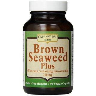 Only Natural Brown Seaweed Plus 700 mg (60 Caplets)