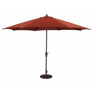 Signature Design by Ashley Orange Large Auto Tilt Umbrella