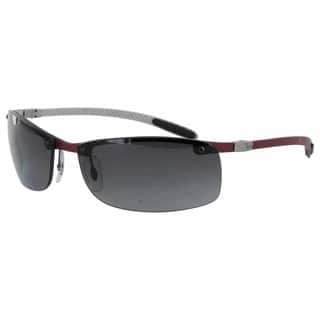 Ray Ban Tech RB8305 Carbon Fibre Semi Rimless Polarized Sunglasses|https://ak1.ostkcdn.com/images/products/14174294/P20773253.jpg?impolicy=medium