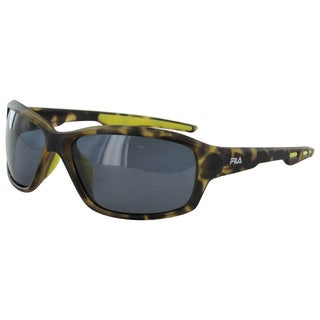 Fila Men's SF001P Polarized Sunglasses