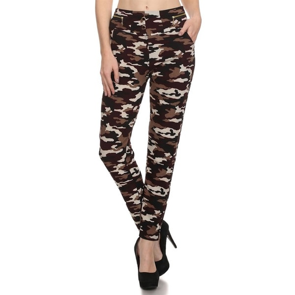 0b162e7dcbd49d Shop Women's Camo Leggings - On Sale - Free Shipping On Orders Over $45 -  Overstock - 14174302