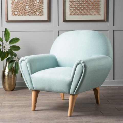 Eliza Fabric Arm Chair by Christopher Knight Home