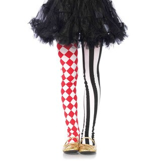Leg Avenue Children's Harlequin Dual-print Nylon Tights