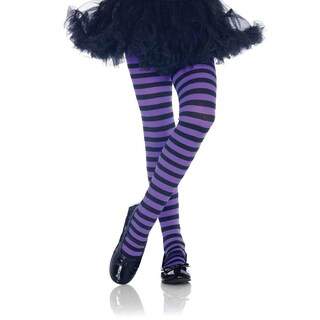 Leg Avenue Kid's Nylon Blend Stripe Tights (3 options available)