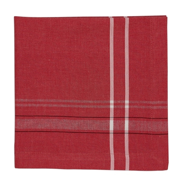 Tango Red French Chambray Napkin Set of 4