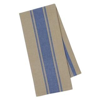 French Blue Stripe Dishtowel- Set of 4