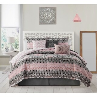 The Curated Nomad La Boheme 7-piece Comforter Set (3 options available)