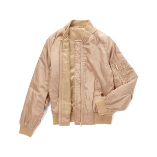 Spicy Mix Girls' Journee Pink Zippered Bomber Jacket (2 options available)