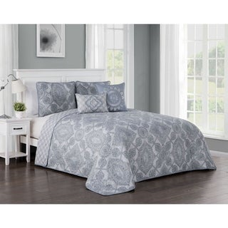 Avondale manor modena 5 piece quilt set free shipping for Kitchen set modena