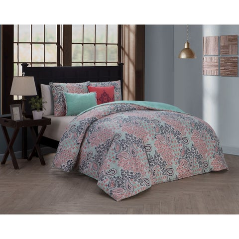 Avondale Manor Fresco 5-piece Duvet Cover Set