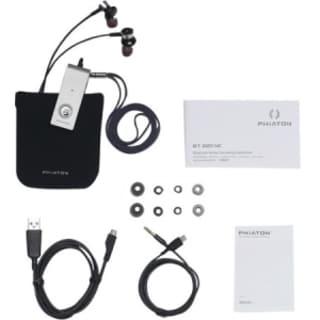 Phiaton Wireless Bluetooth 4.0 & Noise Cancelling Earphones with Micr