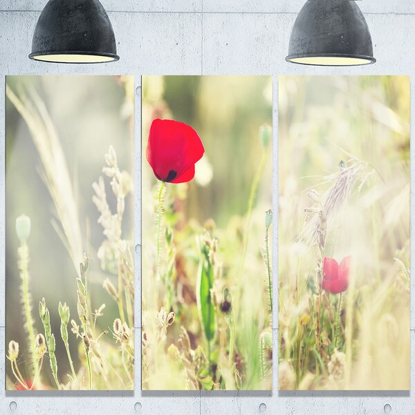 Modern Large Floral Wall Art Elaboration - Wall Art Design ...