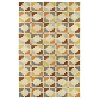 Hand-Tufted Lola Mosaic Sand Motif Wool Rug (8' x 11')|https://ak1.ostkcdn.com/images/products/14185123/P20782527.jpg?impolicy=medium