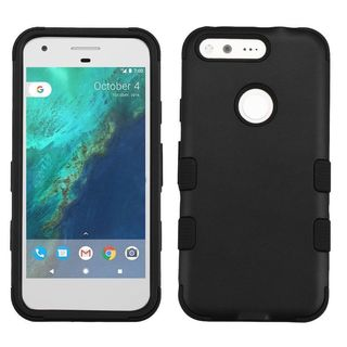 Insten Tuff Hard PC/ Silicone Dual Layer Hybrid Rubberized Matte Case Cover For Google Pixel