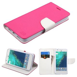 Insten Leather Case Cover with Stand/ Wallet Flap Pouch For Google Pixel