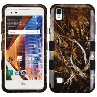 Insten Vines Tuff Hard PC/ Silicone Dual Layer Hybrid Rubberized Matte Case Cover For LG Tribute HD/ X STYLE