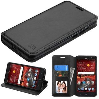 Insten Leather Case Cover with Stand/ Wallet Flap Pouch/ Photo Display For ZTE Grand X 4