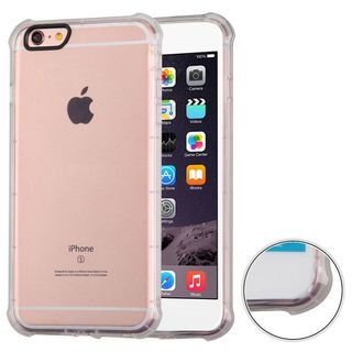 Insten Clear TPU Rubber Candy Skin Case Cover For Apple iPhone 6 Plus/ 6s Plus