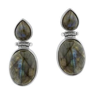 Pangea Mines Labradorite Drop Earrings