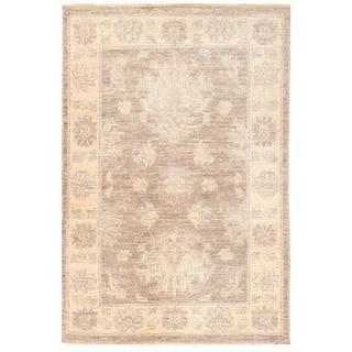 Herat Oriental Afghan Hand-knotted Vegetable Dye Oushak Wool Rug (2'2 x 3'2)