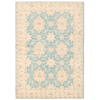 Herat Oriental Afghan Hand-knotted Vegetable Dye William Morris Wool Rug (4' x 5'8)