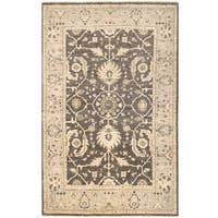 Herat Oriental Afghan Hand-knotted Vegetable Dye Oushak Wool Rug (3'11 x 6'1) - 3'11 x 6'1