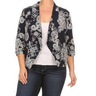 Women's Plus-size Mixed Paisley Cardigan Blazer https://ak1.ostkcdn.com/images/products/14189930/P20786627.jpg?impolicy=medium