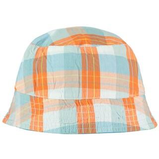 Rockin' Baby Noah Orange and Blue Cotton Hat
