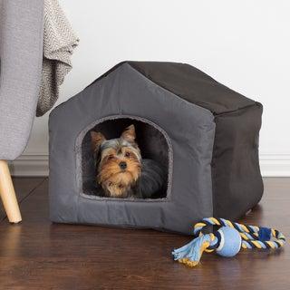 PETMAKER Cozy Cottage House Shaped Pet Bed