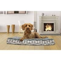 FurHaven Ultra Plush Kilim-patterned Deluxe Orthopedic Dog Pet Bed