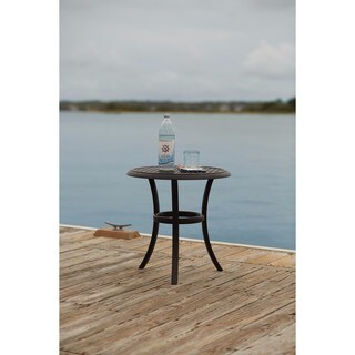 Signature Design by Ashley Tanglevale Black Round End Table