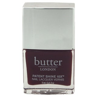 Butter London Patent Shine 10X Nail Lacquer Rather Red
