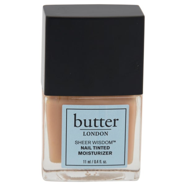 Shop Butter London Sheer Wisdom Nail Tinted Moisturizer Neutral Free Shipping On Orders Over
