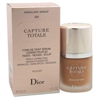 Dior Capture Totale Triple Correcting Serum Foundation SPF 25 020 Light Beige