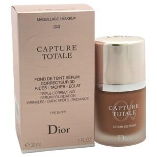 Dior Capture Totale Triple Correcting Serum Foundation SPF 25 040 Honey Beige