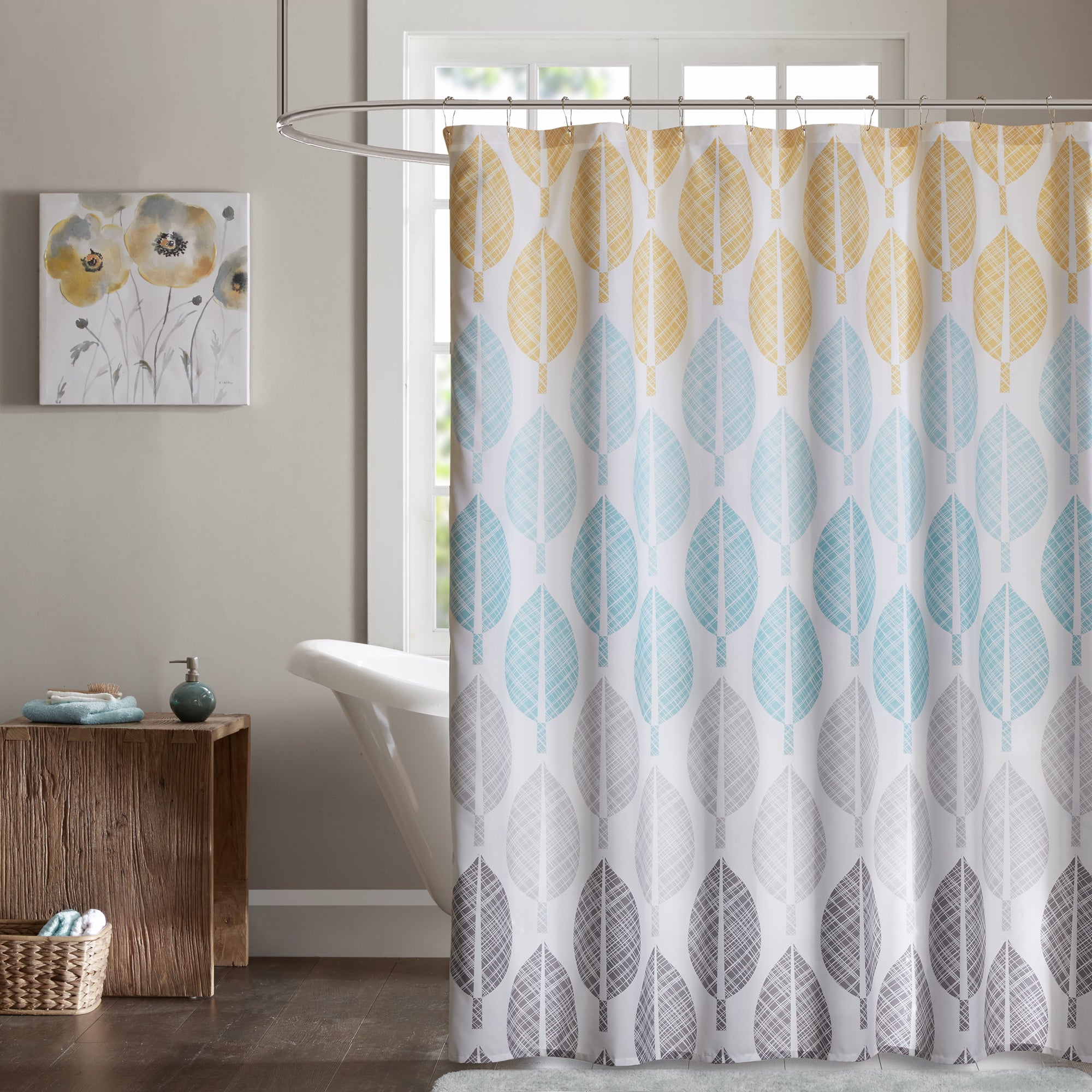 Buy Yellow Shower Curtains Online at Overstock.com   Our Best Shower ...