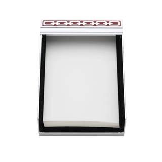 Reed & Barton Silver Link Poppy 4x6 Memo Pad
