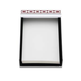 Reed & Barton Silver Link Poppy 4x6 Memo Pad|https://ak1.ostkcdn.com/images/products/14191576/P20788092.jpg?impolicy=medium