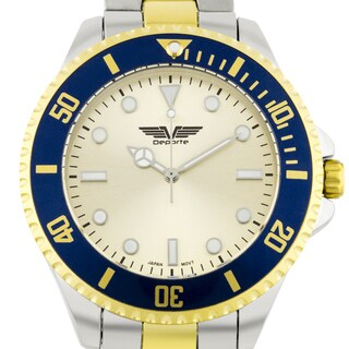 Deporte Cantoni Men's Watch with Tachymeter Bezel