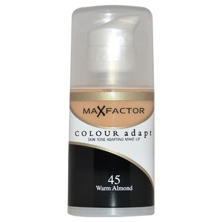 Max Factor Colour Adapt Skin Tone Adapting Makeup 45 Warm Almond