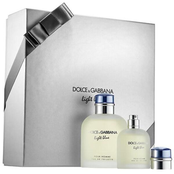 Dolce & Gabbana Light Blue Men's 2-piece Set - Free Shipping Today ...