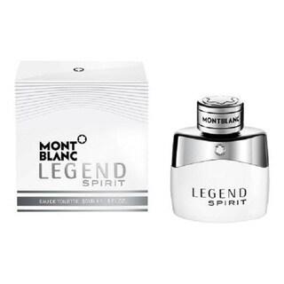 Mont Blanc Legend Spirit Men's 1-ounce Eau de Toilette Spray