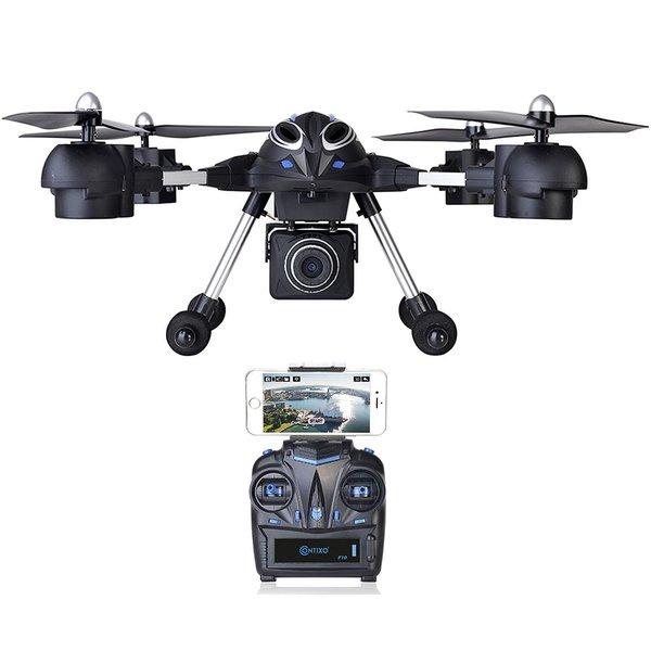 Contixo Wifi FPV F10 RC Quadcopter Drone, Live View, 720p HD Wifi Camera, 2.4GHz, 6 Axis Gyro RTF, Support GoPro HERO Cameras