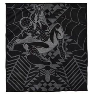 Pendleton Marvel's Amazing Spider-Man Black/Grey Wool/Cotton Throw