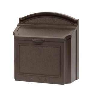 Whitehall Bronze Aluminum Wall Mailbox