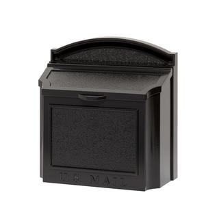 Whitehall Black Aluminum Alloy Wall Mailbox