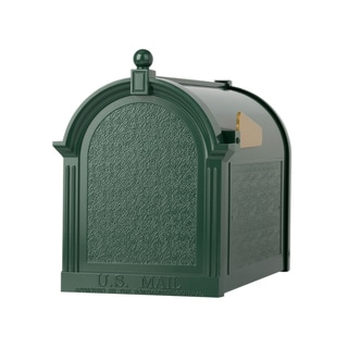 Whitehall Home Outdoor Capitol Green Aluminum Mailbox