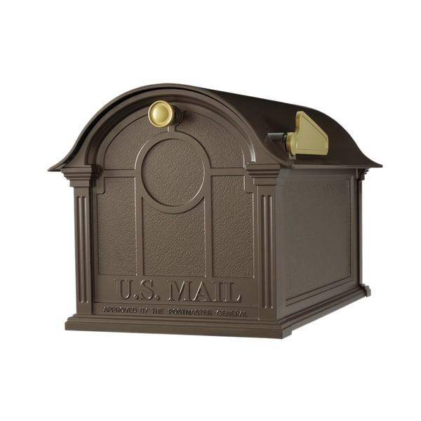Whitehall Balmoral Bronze-tone Aluminum Mailbox